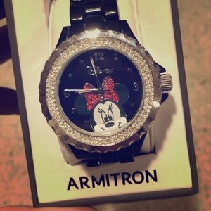 Armitron Bling Minnie Mouse Watch
